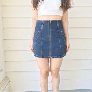 LF Carmar Denim Skirt Size 26